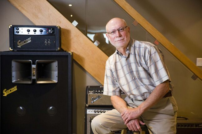 MIKAELA MACKENZIE / WINNIPEG FREE PRESS</p><p>Red Rock Amps owner Larry Kohut does complete cosmetic and electronic restorations of amps in his home in East. St. Paul.</p>