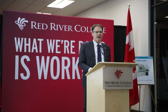 Under Paul Vogt's leadership, RRC not only put aside the scandals that plagued his predecessor but led the college into a period of considerable growth. (Mike Deal / Free Press files)