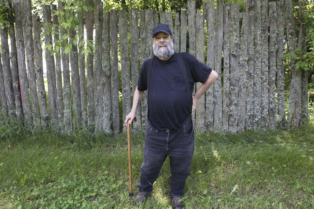 Winnipeg Folk Fest co-founder Mitch Podolak at the Shady Grove site in Birds Hill Provincial Park in 2015. (Joe Bryksa / Winnipeg Free Press files)</p>