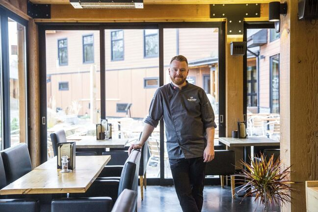 The subtle northern European slant of the menu is apt, considering Thomas Stuart first decided to become a chef after a trip to Europe with a high school friend. (Mikaela MacKenzie / Winnipeg Free Press)