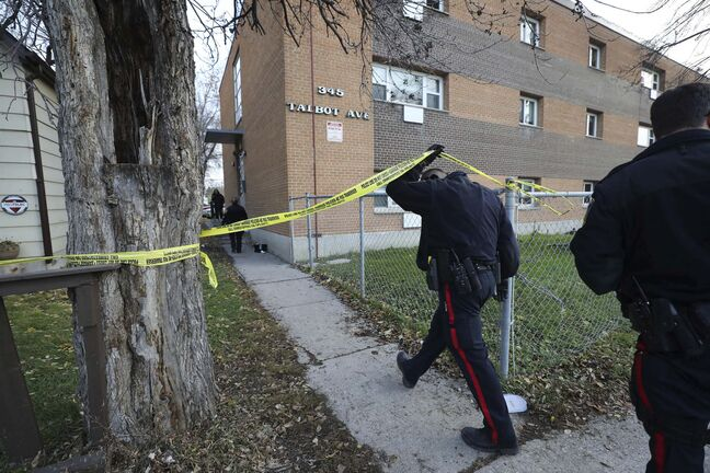According to Statistics Canada's violent-crime severity index, serious violent crimes in Winnipeg were lower in 2018 than they were 10 and 20 years ago. (Ruth Bonneville / Winnipeg Free Press files)</p>