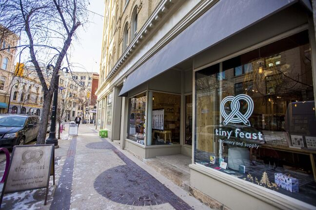 Tiny Feast in the Exchange District is closing shop at the end of the holiday season. (Mikaela MacKenzie / Winnipeg Free Press)