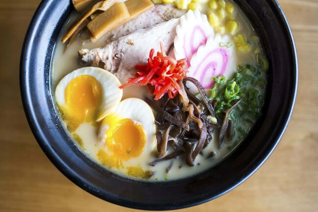 Chef Edward Lam's ramen is among food writer Mike Green's favourite comfort dishes.