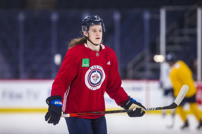 Sami Niku missed the first few days of training camp after a vehicle he was driving was T-boned. (Mikaela MacKenzie / Winnipeg Free Press files)