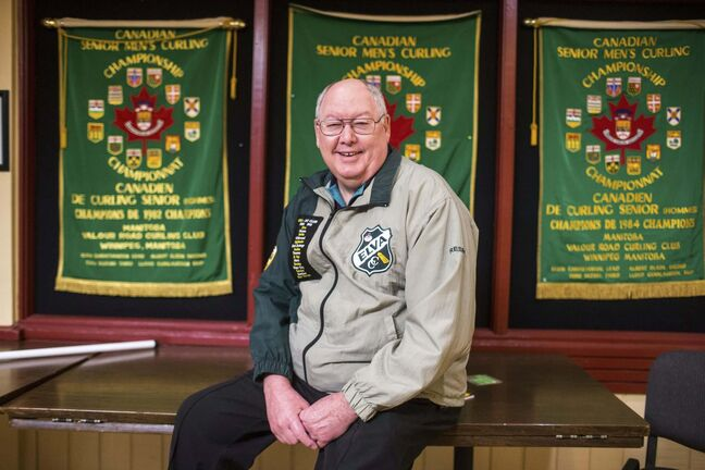 Earlier this month, Resby Coutts was inducted into the Manitoba Curling Hall of Fame as a builder. (Mikaela MacKenzie / Winnipeg Free Press)