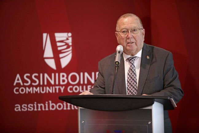 Tim Smith / The Brandon Sun FILES</p><p>Economic Development and Training Minister Ralph Eichler</p>