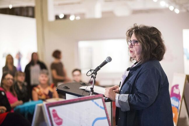 Winnipeg Arts Council executive director Carol Phillips says the brunt of the nearly $500,000 in budget cuts will be shouldered by Winnipeg's arts community. (Mikaela MacKenzie / Winnipeg Free Press files)