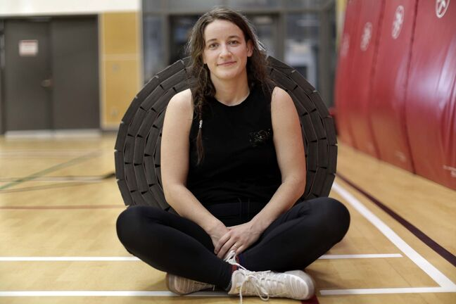 Lyle Stafford / Winnipeg Free Press</p><p>Leah Ferguson coaches young wrestlers in Winnipeg. As an elite athlete based in Calgary, she was exposed to an abusive environment that eroded her emotional and physical well-being.</p>