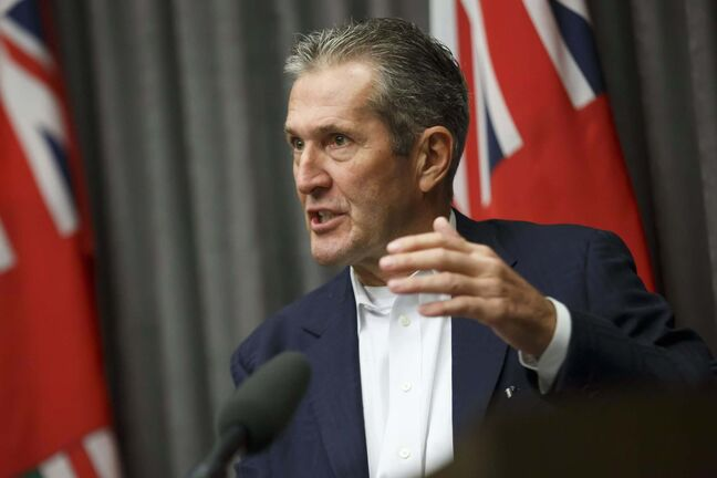 MIKE DEAL / WINNIPEG FREE PRESS FILES</p><p>Manitoba Premier Brian Pallister says signing on to the United Nations Declaration on the Rights of Indigenous Peoples will cause 'confusion and uncertainty' for Canada.</p>