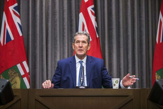 Premier Brian Pallister's focus during the pandemic has been on the health-care battle, while leaving the economic fight to the federal government.</p>