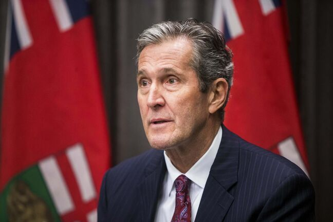 MIKAELA MACKENZIE / WINNIPEG FREE PRESs FILES</p><p>Premier Brian Pallister </p>