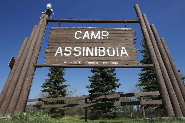 JOHN WOODS / WINNIPEG FREE PRESSThe gate remains open at Camp Assiniboia just west of Headingley Wednesday, May 20, 2020. The camp has cancelled overnight camps but hopes to stay open for day camps.</p><p>Reporter: Wasney</p>