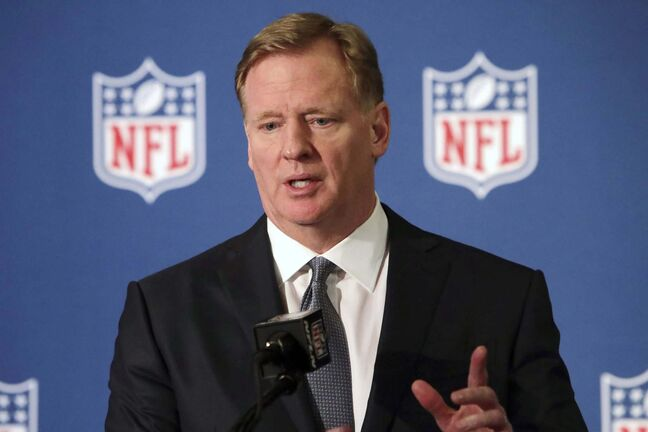 A statement from commissioner Roger Goodell stated that without black players there would be no National Football League
