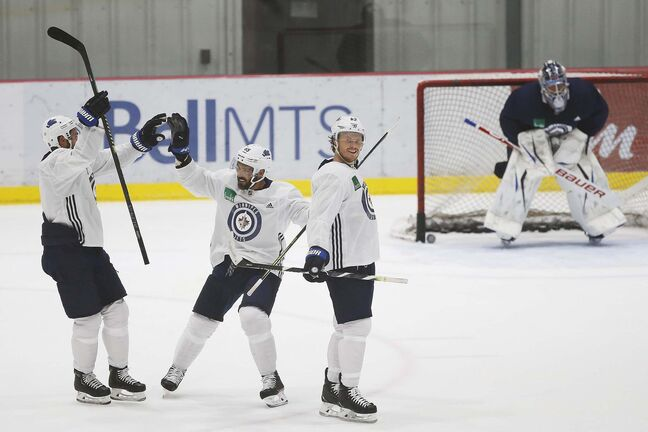 Winnipeg Jets NHL summer training camp opens in Winnipeg, Monday.