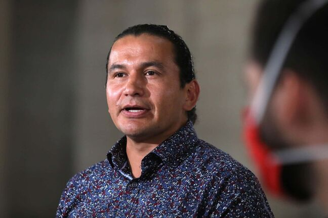 Wab Kinew, Leader of the Official Opposition, is calling on the province to dramatically increase Manitoba's testing capacity for COVID-19. (Ruth Bonneville / Winnipeg Free Press files)