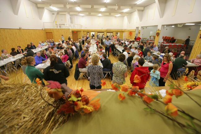 Fall suppers, as they are normally held, are off the table this year. (Bruce Bumstead / Brandon Sun files)
