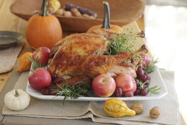 THE CANADIAN PRESS/AP-Matthew Mead</p><p>This year's Thanksgiving will be like no other.</p>