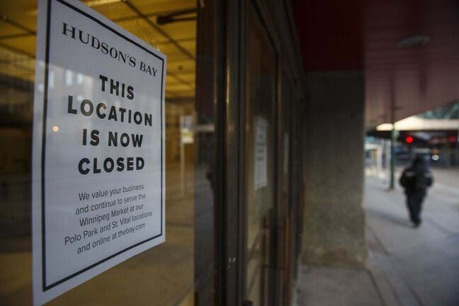 Signs indicate the store is now closed, a few weeks earlier than was anticipated.