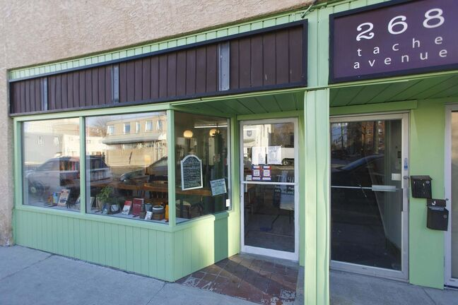 MIKE DEAL / WINNIPEG FREE PRESS</p><p>Thyme Café is tucked away on Tache Avenue between Horace Street and Eugenie Street.</p></p>