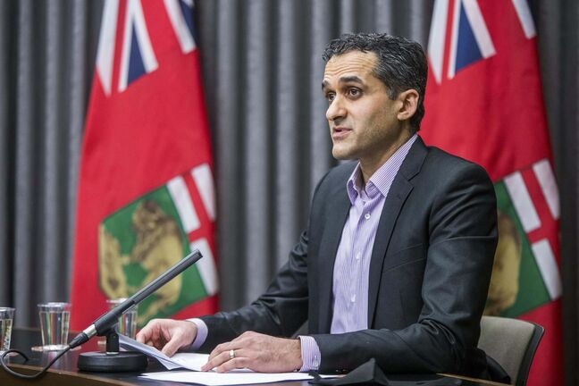 MIKAELA MACKENZIE / WINNIPEG FREE PRESS</p><p>Dr. Jazz Atwal says the province's current situation is encouraging, but following public health orders remains crucial.</p></p>