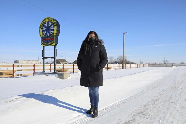 Tim Smith / The Brandon Sun</p><p>Sioux Valley Dakota Nation did not record a single COVID-19 case in 2020. Says Chief Jennifer Bone: 'We had a plan in place, and knew what to do'</p>