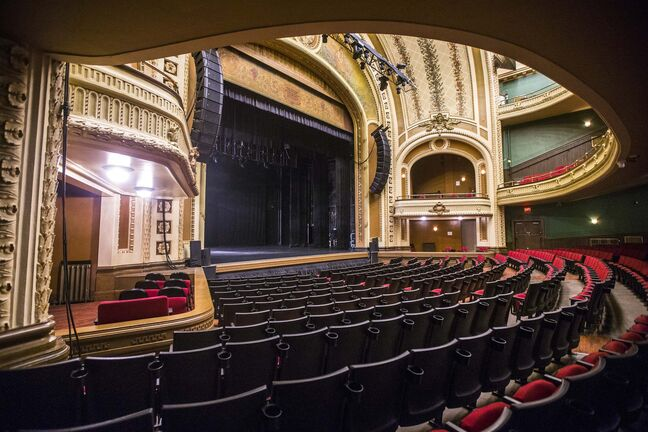 The Burton Cummings Theatre has been mostly silent amid the COVID-19 pandemic, by using the time for upkeep and cleaning the theatre is more than ready for easing of restrictions and the chance to welcome performers and audiences again.