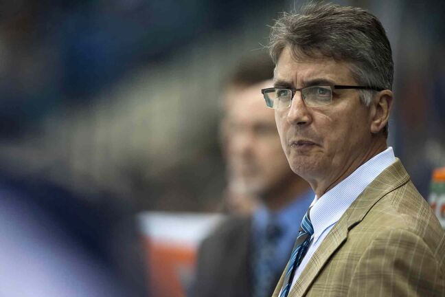 Winnipeg Jets head coach Claude Noel