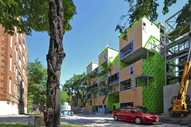 Innovative projects such as 5468796 Architecture�s Oz Condominium bring vibrancy and density to neighbourhoods such as Osborne Village, but difficulty meeting minimum parking requirements on small urban sites results in developers enduring a costly and time-consuming approval process.