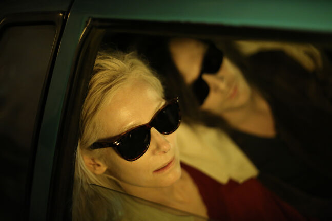 Mature vampires Tilda Swinton, left, and Tom Hiddleston have bigger problems than the prom in Only Lovers Left Alive.