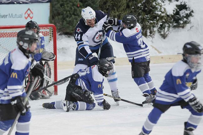 Jets Take To The Forks, Warm Up The Place