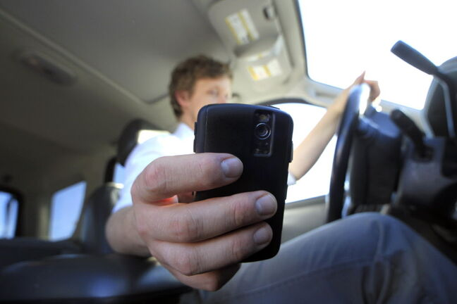 Manitoba is considering upping penalties for distracted drivers.