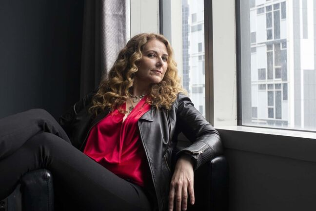 Dr.Jen Gunter poses in Toronto on Wednesday, June 5, 2019. Outspoken doctor and Goop critic Jen Gunter is known for her hot takes on vaginal health, abortion restrictions, and some of the more controversial Gwyneth Paltrow-backed health-and-wellness trends. THE CANADIAN PRESS/Chris Young