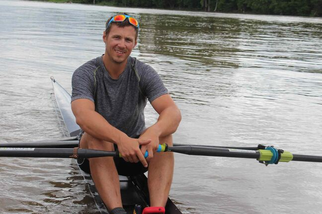 Rower Kevin Kowalyk competed in the 2012 London Olympics, but still hasn't decided if he's going to make the big push for Rio.