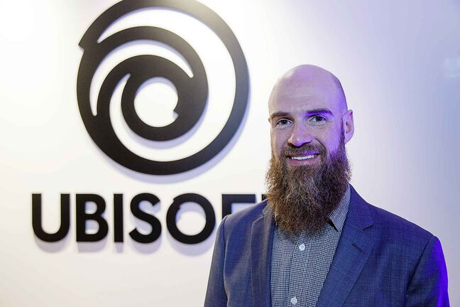 The Ubisoft studio at 250 McDermot Ave. is expanding to by extra 16,000 square feet says Darryl Long, Managing Director of Ubisoft Winnipeg.   190110 - Thursday, January 10, 2019.