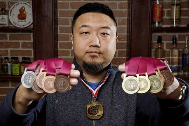 Jason Kang, owner of award winning distillery Capital K.