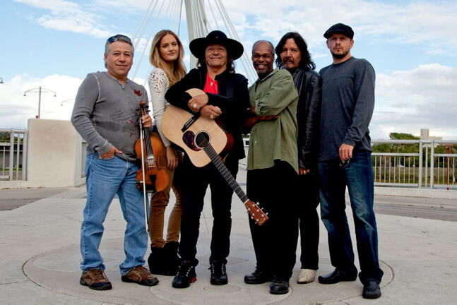Aug. 7 -- The C-Weed Band is one of many aboriginal performers that will be singing during Aboriginal Music Week. (SUPPLIED PHOTO) METRO