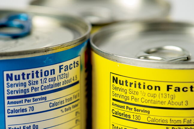 The general rule of thumb for canned foods is they have a shelf life of at least two years from the date of purchase.