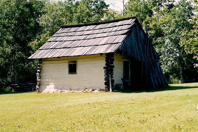 The Wasyl Negrych Pioneer Homestead is unique among Manitoban pioneer homes. Members of the Negrych family lived at its main house into the 1990s without modern improvements such as electricity or running water.