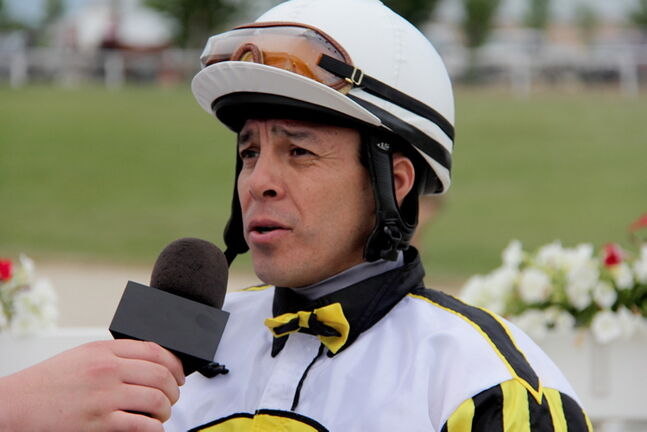 Jockey Adolfo Morales: Can he unseat Paul Nolan to win the jockey title?