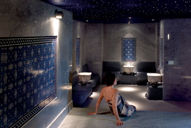 The Hamam baths at Ten Spa are a unique, almost transcendental experience. Take a hometown trip to soothe your soul.