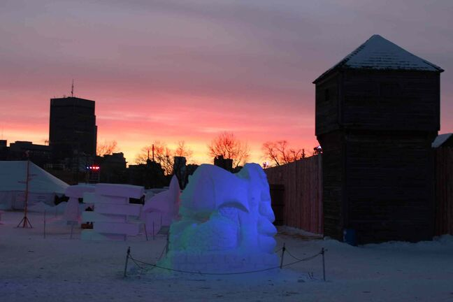 Final Glimpse of Voyageur Park after Closing Ceremonies.