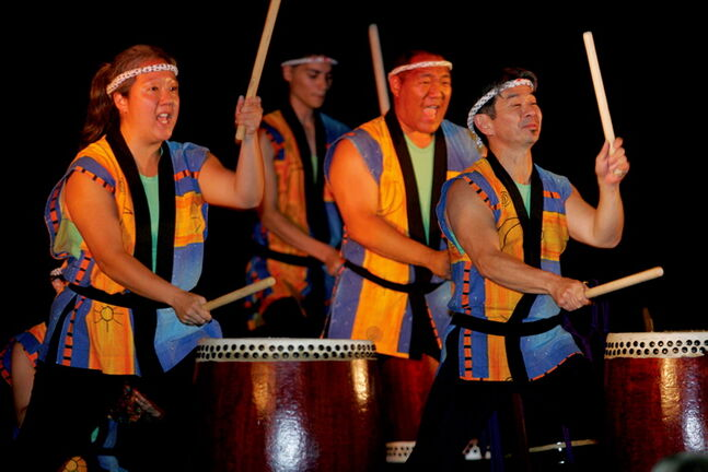 Hinode Taiko is considered the main draw at the Japanese pavilion, and the drum troupe will be performing there again during the pavilion's run from Aug. 11 to 17.