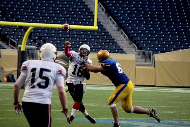 The Fort Garry Lions bested the East Side Eagles 17-14 Saturday evening to become the 2013 Manitoba Major Football League Champions.