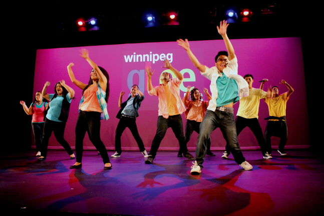 The Winnipeg Glee Club entertained audiences with its show 'Forever Young' Aug. 23-24 at the Gas Station Theatre.
