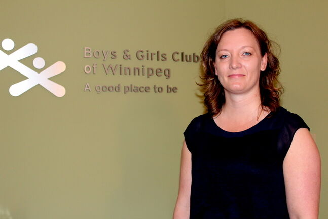 Michelle Schmidt, director of programs for the Boys and Girls Clubs of Winnipeg, is encouraged by corporate donations to the clubs. The Royal Bank of Canada recently donated $71,600 in funding to three clubs across the city.