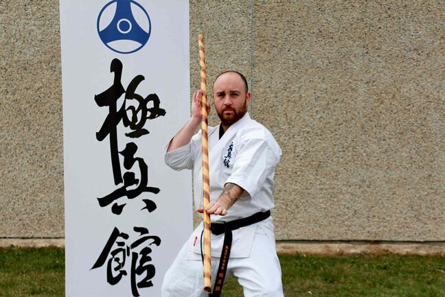 Sean Devlin has opened his own dojo teaching Kyokushin karate at the Victoria Community Centre, 80 Derek St.
