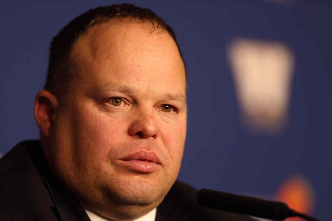 Wade Miller was formally introduced as the CEO of the Winnipeg Blue Bombers Monday afternoon.