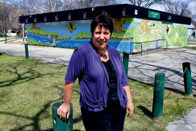 Annette Champion-Taylor is applauding the city for being receptive to her group's call to crack down on illegal dumping in her William Whyte neighbourhood.
