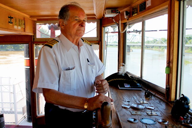 Captain Steve Hawchuk says he's ready to sail the Paddlewheel Queen this summer.