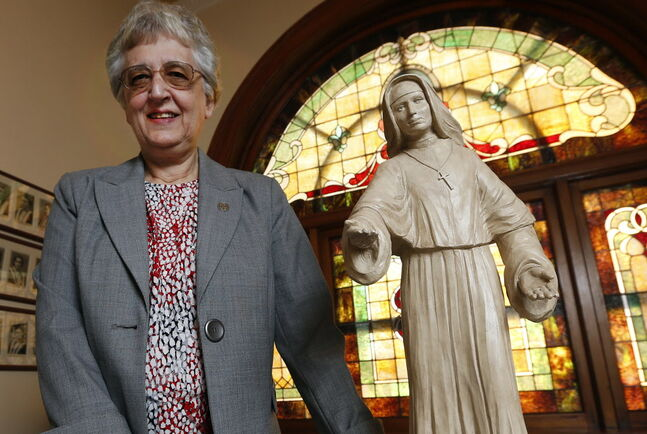 One of Manitoba's last Catholic nun educators, Sister Susan Wikeem has been a principal, teacher and student at St. Mary's Academy. In June, she is retiring as its director.